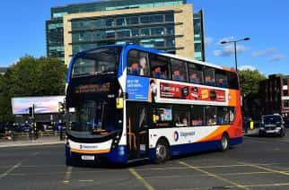 A Fresh new look for the iconic Stagecoach bus