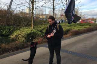 Anarchy in the U.K. – Antifa protest Boris Johnson's Sunderland cabinet