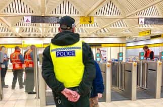 Northumbria Police and Nexus team up to combat disorder in Metro network. Photo: Northumbria Police