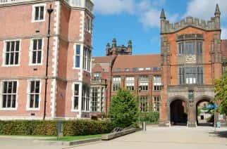 Newcastle University campus, near the city centre.