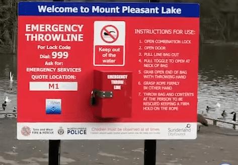 New Safety Equipment At Site Of Multiple Deaths On Sunderland Riverside