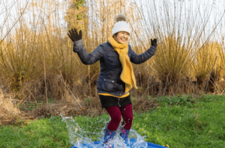 Local wetland centre to host puddle jumping competition during February half term