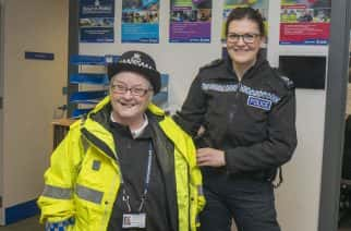 Northumbria police make 70-year-old cancer patient detective for a day
