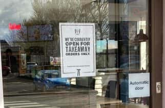 Fast food businesses go 'take out' and 'drive thru' only to coincide with government guidelines to beat COVID-19