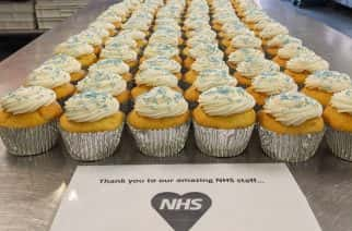 Newcastle Catering Business Donates Cup Cakes to NHS Staff