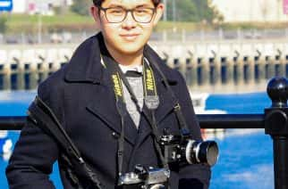Student photo-journalist Ryan Lim was threatened with arrest while covering the coronavirus lockdown in Sunderland. Image: Ryan Lim
