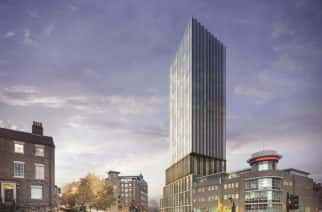 Construction of Newcastle's Hadrian's Tower uncdrtain due to coronavirus outbreak