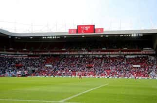 The Stadium of Light. The home of Sunderland AFC