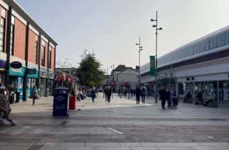 Sunderland's Market Square - right at the heart of the new Covid-19 restrictions.