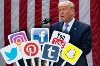 Donald Trump has been accused of using social media as a tool to sow division and disinformation - and continues to use it to defy critics and election rivals.