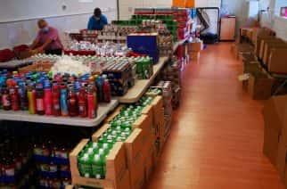 Feeding Families warehouse