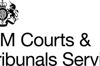 HM Courts & Tribunals Service crest.