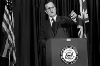George HW Bush when he was Vice President.