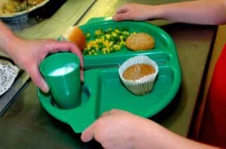 Around three-in-10 school-aged children have registered for free school meals this autumn, research for food poverty campaigners suggests.