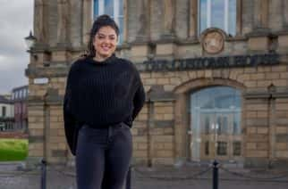 Izzy Finch is one of the first graduates from UoS's new Masters course in Inequality and Society.