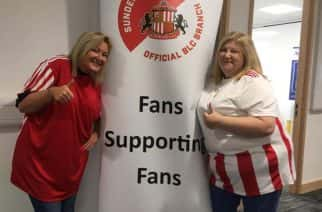 Joanne Youngson (Left) and Catherine Reid (Right) both run the SAFC Mental Health Hub at the Beacon of Light.