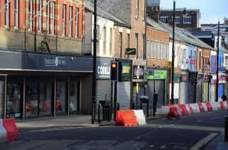 PICTURES: Sunderland City Centre quiet as new restrictions are implemented