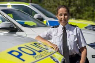 Chief Inspector Sam Rennison, head of Northumbria Police's road traffic division.
