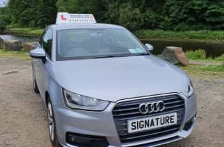 Signature is a driving instructing company based in the north east.