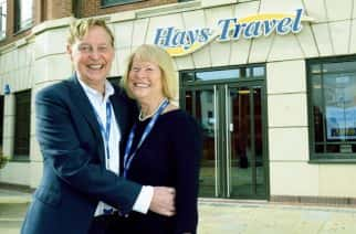 Hays Travel founder collapses and dies at head office
