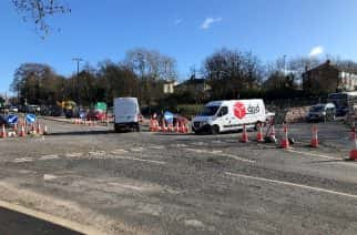 Local pub manager frustrated at over-budget and delayed road works