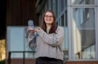 University of Sunderland graduate Kirsty Evers