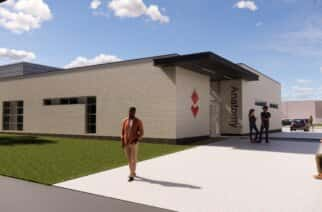 An artist impression of new cadaveric centre at the University of Sunderland.