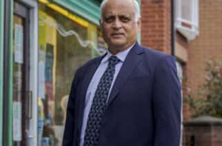 Respected pharmacist Umesh Patel at his Leema Pharmacy on Tunstall Road in Sunderland Picture: DAVID WOOD
