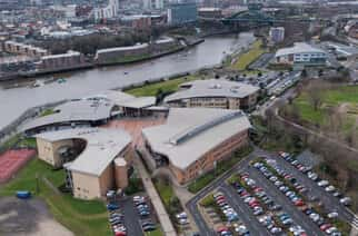 St Peter's Campus at the University of Sunderland..