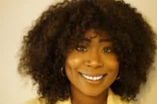 Zina Alfa, presenter and founder of UB hair