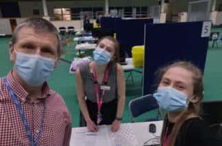 Pride of the University: Sunderland student doctors join the national vaccination effort