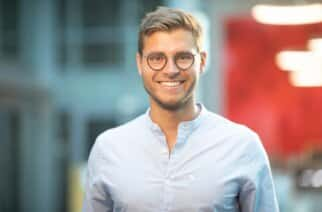 UoS engineering graduate Florian Hildebrand, co-founder and managing partner of Qualifyze, which has helped keep drug supplies moving round the world during the Covid pandemic.