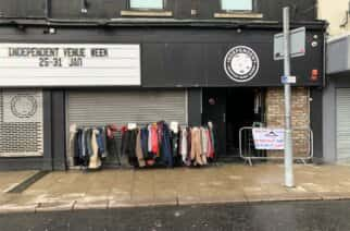 The Take One Leave One donation point at Independent on Holmeside in the city centre. Image: Iain Lee.