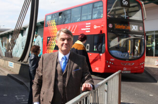 Regional transport committee chairman Coun Martin Gannon wants a level playing field when it comes to the Government's transport budget for the North East.