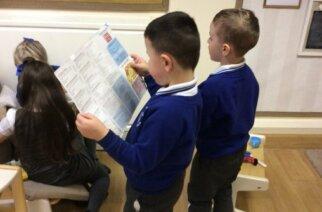 Pupils back at school at St John Bosco RC Primary, Sunderland (Photo: school Twitter account)