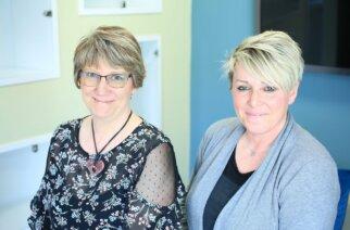 Principal Lecturer Karen Giles and Ashley Murphy