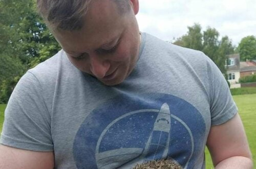 Sunderland firefighter helping to build hedgehog enclosure as hog numbers fall