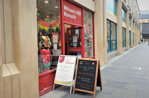 Newcastle charity shop 'busier than before covid-19 pandemic'